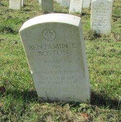 Pvt Benjamin Eugene Boston