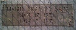 Mamie <I>Brantley</I> Sapp