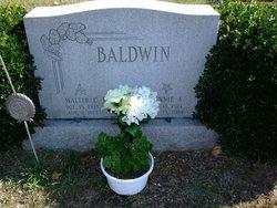 Minnie A <I>Newhook</I> Baldwin