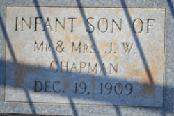 Infant son Chapman
