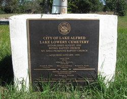 Lake Lowery Cemetery