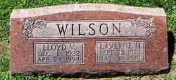 Lloyd V. Wilson