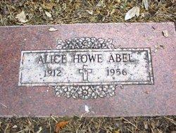 Alice Margaret <I>Howe</I> Abel
