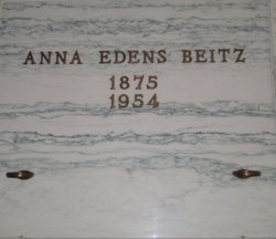Anna S <I>Edens</I> Beitz