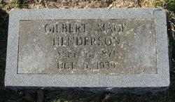Gilbert Mack Henderson