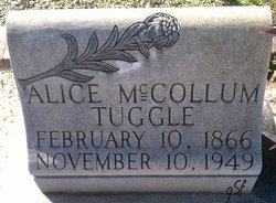 Alice <I>McCollum</I> Tuggle