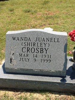 "Wanda Juanell ""Shirley"" Crosby"