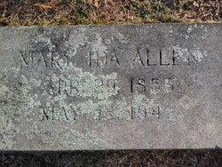 Mary Ida <I>Pleasant</I> Allen