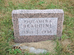 "Philamena Margaret ""Minnie"" <I>Mader</I> Beaudine"