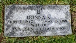 Donna Kay <I>Milbourn</I> Delaphiano