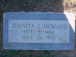 """Juanita Edith """"Janie"""" <I>Dixon</I> Howard"""