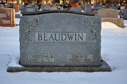 """Christina M. """"Toppy"""" Beaudwin"""