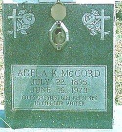 Adela Katherine <I>Schmidt</I> McCord
