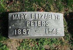 Mary Elizabeth <I>Stalter</I> Peters
