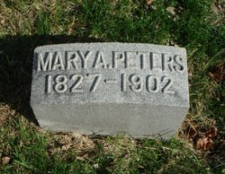 Mary Ann <I>Beck</I> Peters