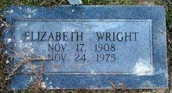 Elizabeth <I>Megason</I> Wright