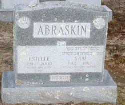 Estelle R <I>Aronowitz</I> Abraskin