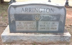 "Leila Mae ""Lilly"" <I>Skelton</I> Arrington"