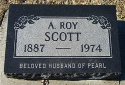 "Alva Roy Bernard ""Roy"" Scott"