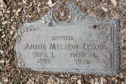 Annie <I>Melton</I> Lozo