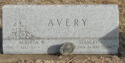 Alberta W <I>Yeager</I> Avery