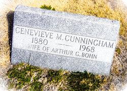 Genevieve M <I>Cunningham</I> Bohn
