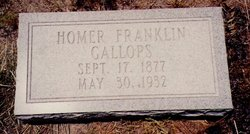 Homer Franklin Gallops