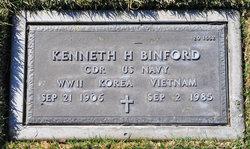 Kenneth H Binford