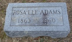 Perida Rosa Lee <I>Johnson</I> Adams