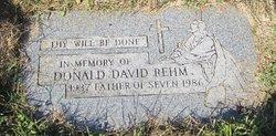 Donald David Rehm
