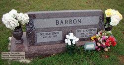 """William E. """"Billy"""" Barron"""