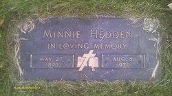 Minnie <I>Ellis</I> Hedden