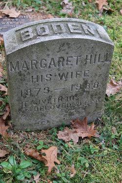 Margaret Hill <I>Burton</I> Boden
