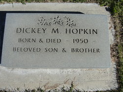 Dickey M Hopkins