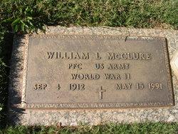 """William Leonard """"Len"""" McClure"""