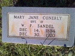 Mary Jane <I>Conerly</I> Sandel