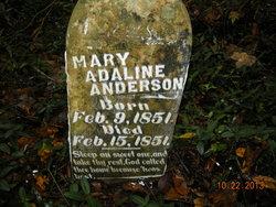 Mary Adalina Anderson