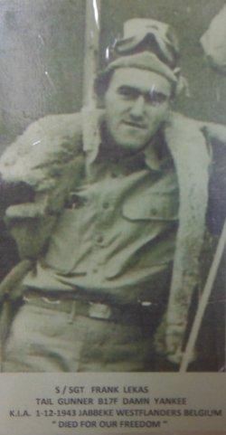 SSGT Frank Lekas