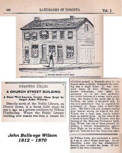 """John """"Bullseye"""" Wilson"""