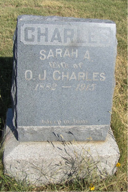 """Sarah Augusta """"Sadie"""" <I>Morton</I> Charles"""