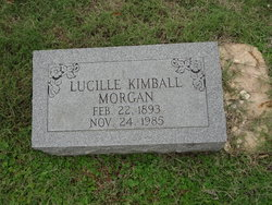 Lucille <I>Kimball</I> Morgan