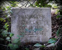 Franklin Bolivar Sublett