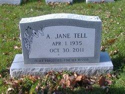 Augusta Jane <I>Reitz</I> Tell