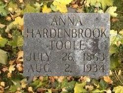 Anna Hardenbrook Toole