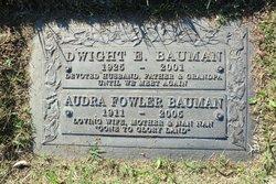 Dwight Eldon Bauman