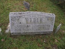 Sarah M. <I>Lewis</I> Weber