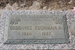 Geddings D Cushman, Jr