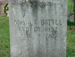 Adeline Elizabeth <I>Whitaker</I> Battle