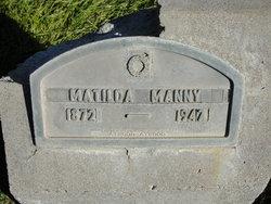 Matilda Elizabeth Manny