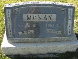 Edna A McNay